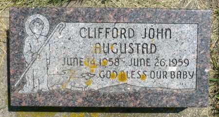 AUGUSTAD, CLIFFORD JOHN - Minnehaha County, South Dakota   CLIFFORD JOHN AUGUSTAD - South Dakota Gravestone Photos