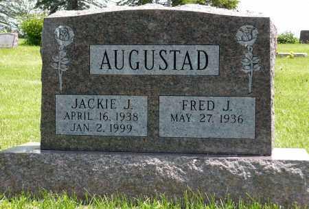 AUGUSTAD, JACKIE J. - Minnehaha County, South Dakota   JACKIE J. AUGUSTAD - South Dakota Gravestone Photos