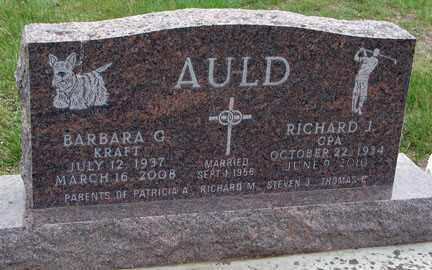 AULD, RICHARD J. - Minnehaha County, South Dakota | RICHARD J. AULD - South Dakota Gravestone Photos