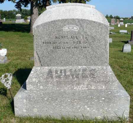 AULWES, HENRY - Minnehaha County, South Dakota   HENRY AULWES - South Dakota Gravestone Photos