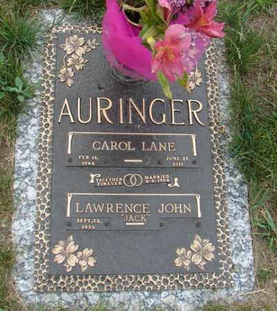 AURINGER, LAWRENCE JOHN - Minnehaha County, South Dakota | LAWRENCE JOHN AURINGER - South Dakota Gravestone Photos