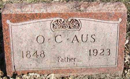 AUS, OLE C. - Minnehaha County, South Dakota | OLE C. AUS - South Dakota Gravestone Photos