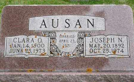 AUSAN, CLARA O. - Minnehaha County, South Dakota | CLARA O. AUSAN - South Dakota Gravestone Photos