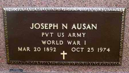 AUSAN, JOSEPH N. (WWI) - Minnehaha County, South Dakota | JOSEPH N. (WWI) AUSAN - South Dakota Gravestone Photos