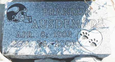 AUSDEMORE, BRANDON - Minnehaha County, South Dakota | BRANDON AUSDEMORE - South Dakota Gravestone Photos