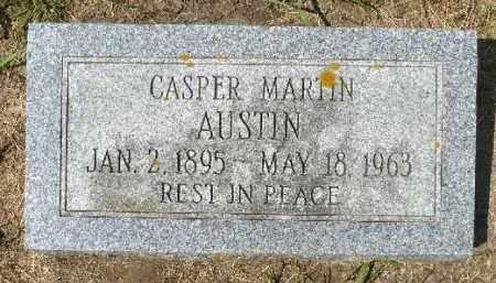 AUSTIN, CASPER MARTIN - Minnehaha County, South Dakota   CASPER MARTIN AUSTIN - South Dakota Gravestone Photos