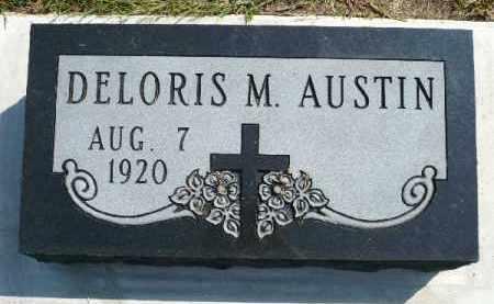 AUSTIN, DELORIS M. - Minnehaha County, South Dakota   DELORIS M. AUSTIN - South Dakota Gravestone Photos