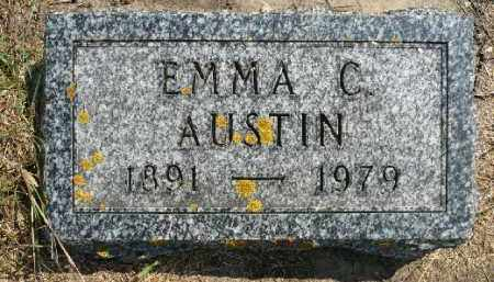 AUSTIN, EMMA C. - Minnehaha County, South Dakota | EMMA C. AUSTIN - South Dakota Gravestone Photos