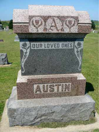 AUSTIN, FAMILY MARKER - Minnehaha County, South Dakota | FAMILY MARKER AUSTIN - South Dakota Gravestone Photos