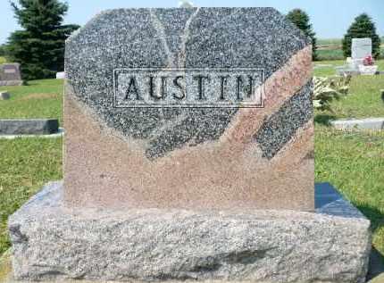 AUSTIN, FAMILY MARKER - Minnehaha County, South Dakota   FAMILY MARKER AUSTIN - South Dakota Gravestone Photos