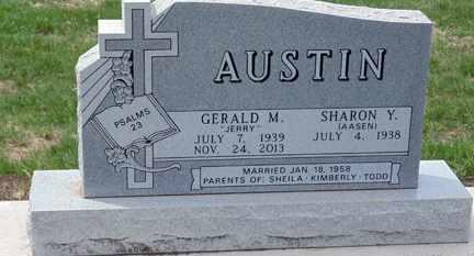 AUSTIN, SHARON Y. - Minnehaha County, South Dakota | SHARON Y. AUSTIN - South Dakota Gravestone Photos