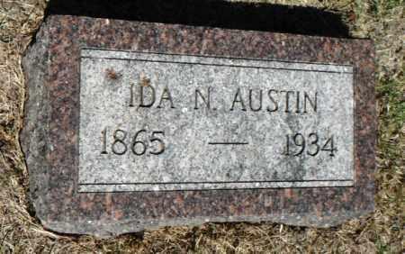 AUSTIN, IDA NANCY - Minnehaha County, South Dakota | IDA NANCY AUSTIN - South Dakota Gravestone Photos