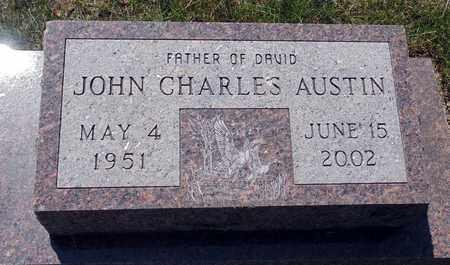 AUSTIN, JOHN CHARLES - Minnehaha County, South Dakota   JOHN CHARLES AUSTIN - South Dakota Gravestone Photos