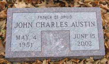 AUSTIN, JOHN CHARLES - Minnehaha County, South Dakota | JOHN CHARLES AUSTIN - South Dakota Gravestone Photos