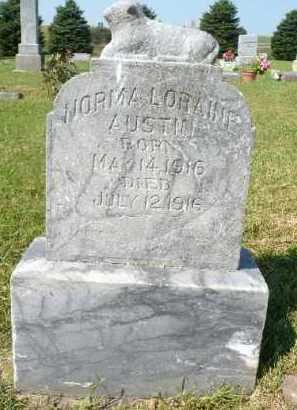 AUSTIN, NORMA LORAINE - Minnehaha County, South Dakota   NORMA LORAINE AUSTIN - South Dakota Gravestone Photos