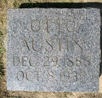 AUSTIN, OTTO - Minnehaha County, South Dakota | OTTO AUSTIN - South Dakota Gravestone Photos