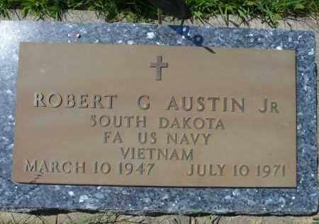 AUSTIN, ROBERT G. JR. (VIETNAM) - Minnehaha County, South Dakota   ROBERT G. JR. (VIETNAM) AUSTIN - South Dakota Gravestone Photos