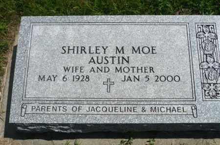 AUSTIN, SHIRLEY M. - Minnehaha County, South Dakota   SHIRLEY M. AUSTIN - South Dakota Gravestone Photos