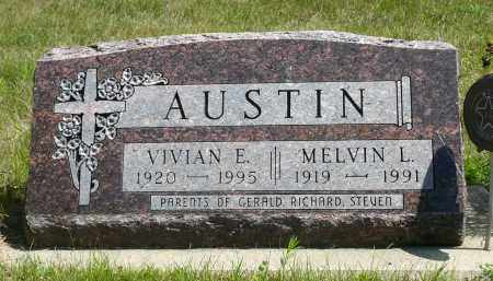 AUSTIN, MELVIN L. - Minnehaha County, South Dakota | MELVIN L. AUSTIN - South Dakota Gravestone Photos