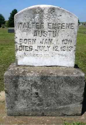 AUSTIN, WALTER EUGENE - Minnehaha County, South Dakota   WALTER EUGENE AUSTIN - South Dakota Gravestone Photos
