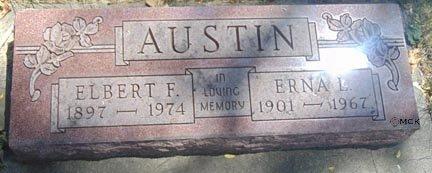AUSTIN, ERNA L. - Minnehaha County, South Dakota | ERNA L. AUSTIN - South Dakota Gravestone Photos