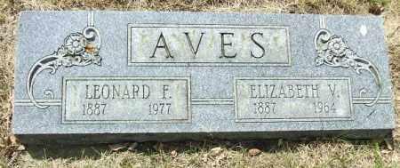 AVES, LEONARD F. - Minnehaha County, South Dakota | LEONARD F. AVES - South Dakota Gravestone Photos