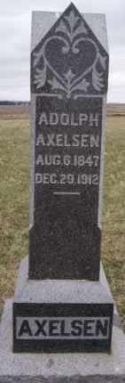 AXELSEN, ADOLPH - Minnehaha County, South Dakota | ADOLPH AXELSEN - South Dakota Gravestone Photos