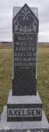 AXELSEN, MARY - Minnehaha County, South Dakota | MARY AXELSEN - South Dakota Gravestone Photos