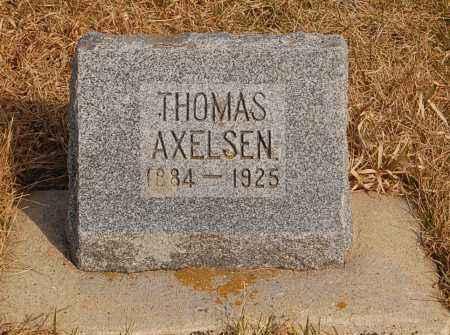 AXELSEN, THOMAS - Minnehaha County, South Dakota | THOMAS AXELSEN - South Dakota Gravestone Photos