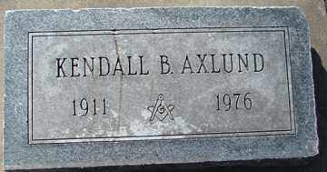 AXLUND, KENDALL B. - Minnehaha County, South Dakota | KENDALL B. AXLUND - South Dakota Gravestone Photos