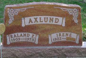 AXLUND, IRENE - Minnehaha County, South Dakota | IRENE AXLUND - South Dakota Gravestone Photos