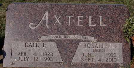 AXTELL, ROSALIE E - Minnehaha County, South Dakota | ROSALIE E AXTELL - South Dakota Gravestone Photos