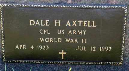 AXTELL, DALE H. - Minnehaha County, South Dakota | DALE H. AXTELL - South Dakota Gravestone Photos