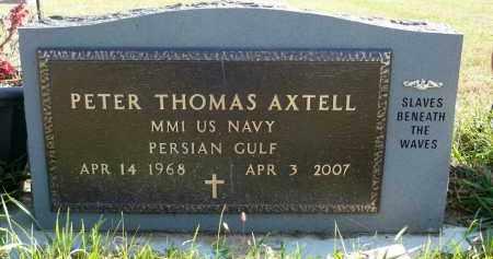 AXTELL, PETER THOMAS - Minnehaha County, South Dakota | PETER THOMAS AXTELL - South Dakota Gravestone Photos