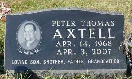 AXTELL, PETER THOMAS - Minnehaha County, South Dakota | PETER THOMAS AXTELL - South Dakota Gravestone Photos