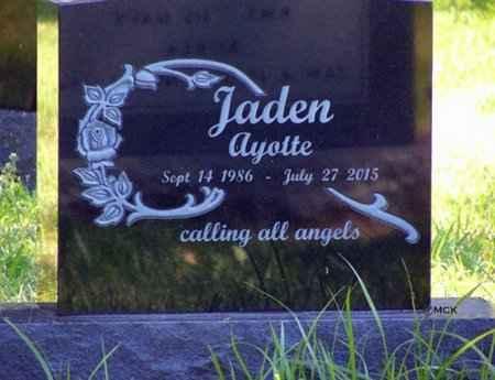 AYOTTE, JADEN - Minnehaha County, South Dakota   JADEN AYOTTE - South Dakota Gravestone Photos