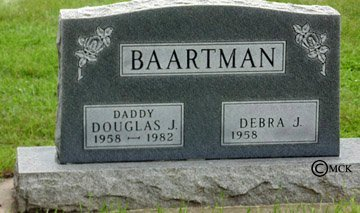 BAARTMAN, DEBRA J. - Minnehaha County, South Dakota | DEBRA J. BAARTMAN - South Dakota Gravestone Photos