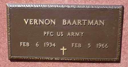 BAARTMAN, VERNON - Minnehaha County, South Dakota | VERNON BAARTMAN - South Dakota Gravestone Photos