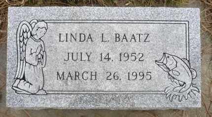 BAATZ, LINDA L. - Minnehaha County, South Dakota | LINDA L. BAATZ - South Dakota Gravestone Photos