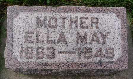 BABCOCK, ELLA MAY - Minnehaha County, South Dakota | ELLA MAY BABCOCK - South Dakota Gravestone Photos