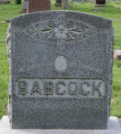 BABCOCK, FAMILY MARKER - Minnehaha County, South Dakota   FAMILY MARKER BABCOCK - South Dakota Gravestone Photos