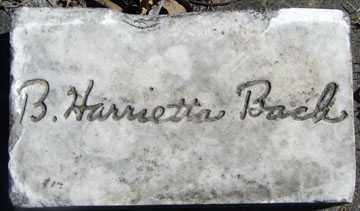 BACH, B. HERRIETTA - Minnehaha County, South Dakota | B. HERRIETTA BACH - South Dakota Gravestone Photos