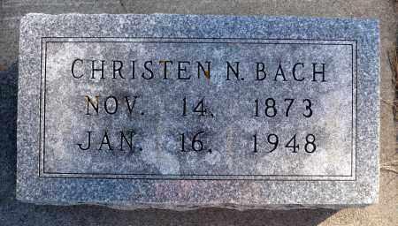 BACH, CHRISTEN NIELSEN - Minnehaha County, South Dakota | CHRISTEN NIELSEN BACH - South Dakota Gravestone Photos