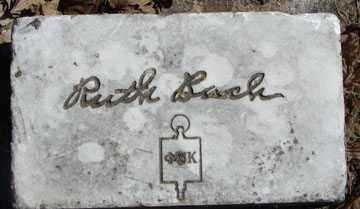 BACH, RUTH - Minnehaha County, South Dakota   RUTH BACH - South Dakota Gravestone Photos