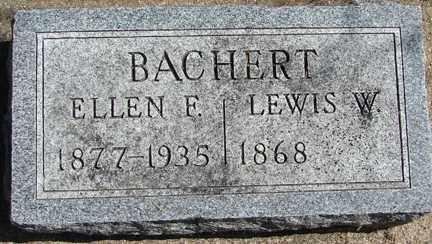 BACHERT, ELLEN F. - Minnehaha County, South Dakota | ELLEN F. BACHERT - South Dakota Gravestone Photos