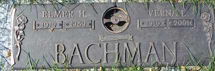 BACHMAN, VERNA L. - Minnehaha County, South Dakota | VERNA L. BACHMAN - South Dakota Gravestone Photos