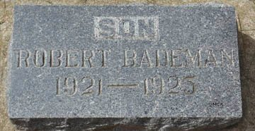 BADEMAN, ROBERT - Minnehaha County, South Dakota | ROBERT BADEMAN - South Dakota Gravestone Photos