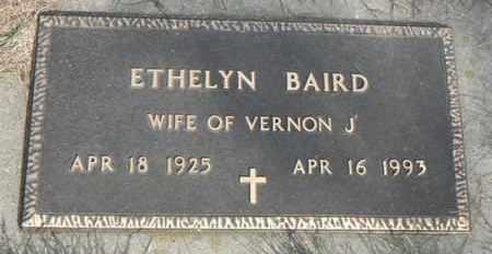 BAIRD, ETHELYN - Minnehaha County, South Dakota | ETHELYN BAIRD - South Dakota Gravestone Photos