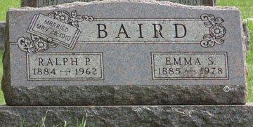 BAIRD, RALPH P. - Minnehaha County, South Dakota   RALPH P. BAIRD - South Dakota Gravestone Photos
