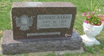 BAKKE, BONNIE - Minnehaha County, South Dakota   BONNIE BAKKE - South Dakota Gravestone Photos